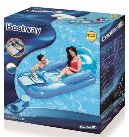 Bestway (43130): Materac do pływania z torbą chłodzącą