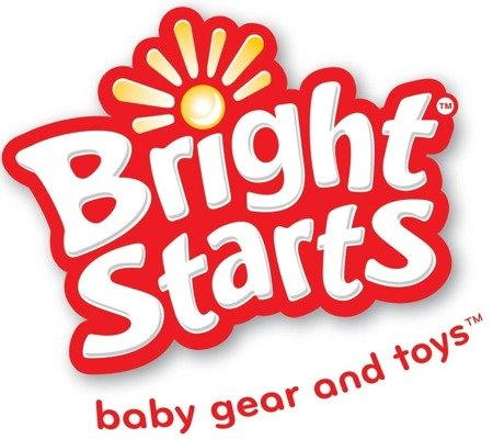 Bright Starts 60725 Leżaczek: Kolorowe Wzorki