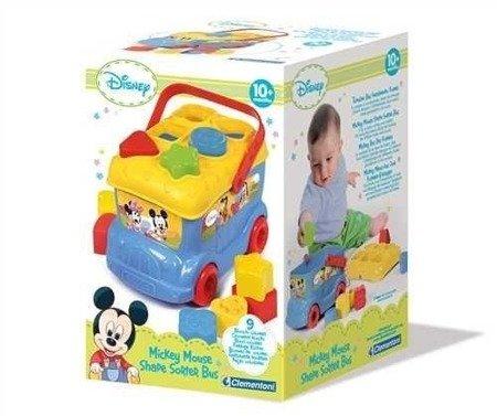 Clementoni: Autobus Baby Mickey, sorter klocków