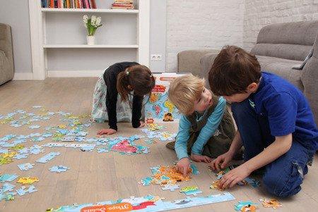 CzuCzu (CZU33626) Puzzle Mapa Świata