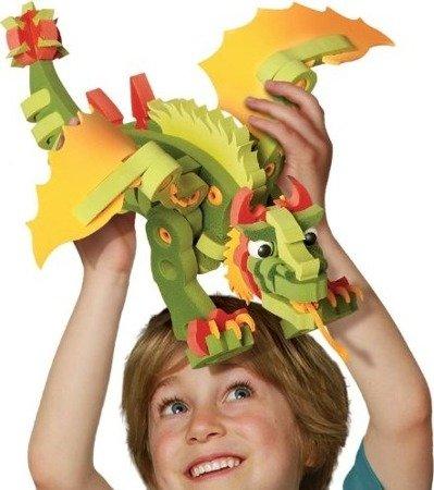 Dumel Discovery Klocki Piankowe Combat dragon