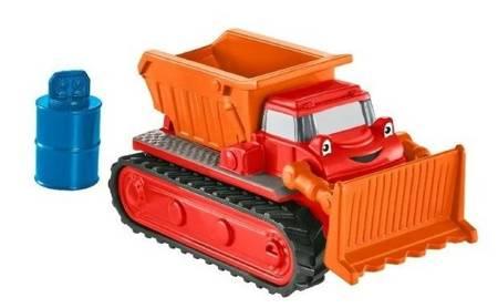 Fisher Price (CJG91): Bob Budowniczy Mały pojazd Spychacz Muck