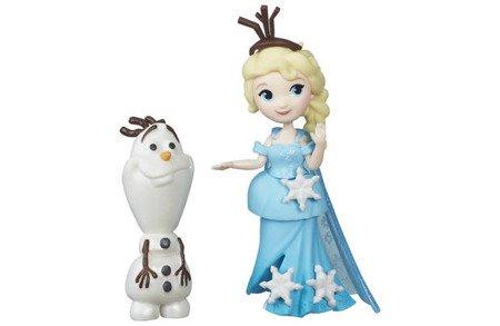 Hasbro (B5185) Frozen Mini laleczka Elsa i Olaf