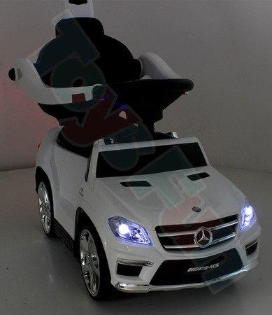 Jeździk, pchacz, bujak Mercedes GL63 AMG biały