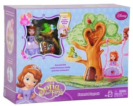 Mattel Disney Princess (BBT04-0): Księżniczka Zosia i jej zwierzątka