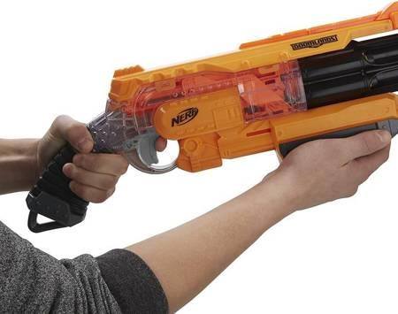 Nerf wyrzutnia VAGABOND BLASTER strzałki