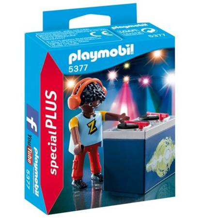 """Playmobil Dj """"Z"""""""