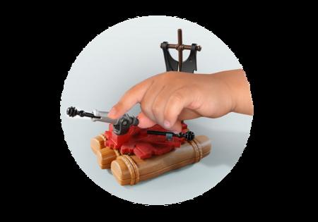 Playmobil Skrzyneczka Tratwa piracka