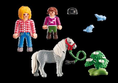 Playmobil Spacer z kucykiem
