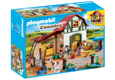 Playmobil Stadnina kucyków z akcesoriami