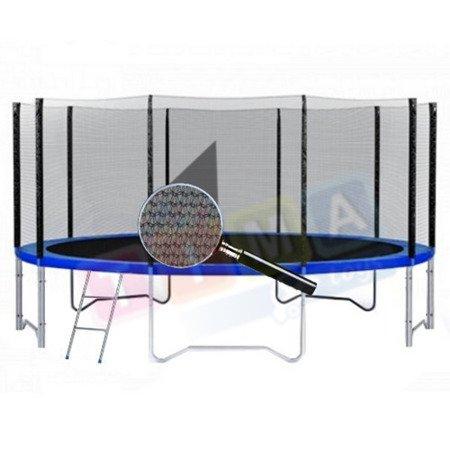 Siatka zewnętrzna do trampoliny 10ft/ 305cm (8 słupków)