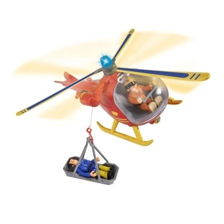 Simba: Strażak Sam Helikopter ratowniczy z figurką