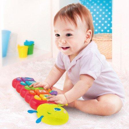 Smily Play (0215): Zabawka wielofunkcyjna, gąsienica Zuzia