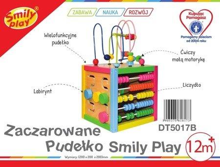 Smily Play: Drewniana kostka edukacyjna - Zaczarowane pudełko