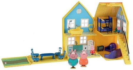Świnka Peppa Rozkładany domek deluxe z figurkami