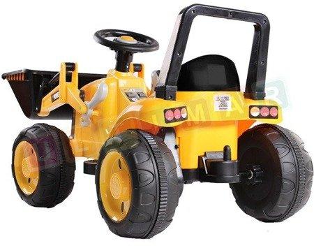 Traktor, spychacz na akumulator
