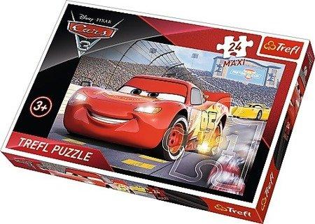 Trefl (14250): Puzzle 24 Maxi: Mistrz, Cars 3