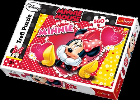 Trefl (15220): Puzzle 160 el. - Myśląca Minnie