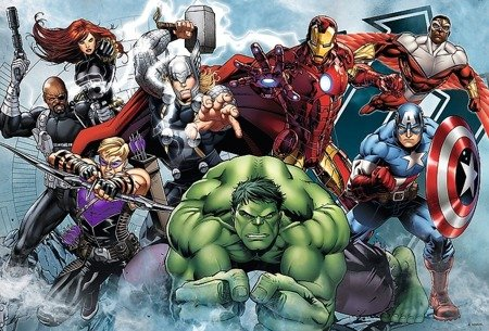 Trefl 16272: Puzzle 100 el. - Avengers: Do ataku