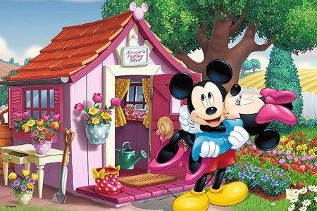 Trefl (17285): Puzzle 60 el. - Miki i Minnie w ogrodzie