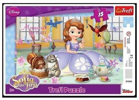 Trefl 31204 Puzzle ramkowe Jej wysokość Zosia 15el.