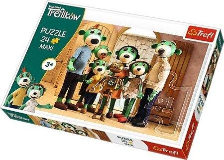 Trefl Puzzle 24 maxi Rodzina Treflików Portret rodzinny