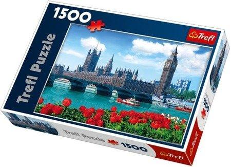 Trefl Puzzle - Parlament - Anglia 1500 el.