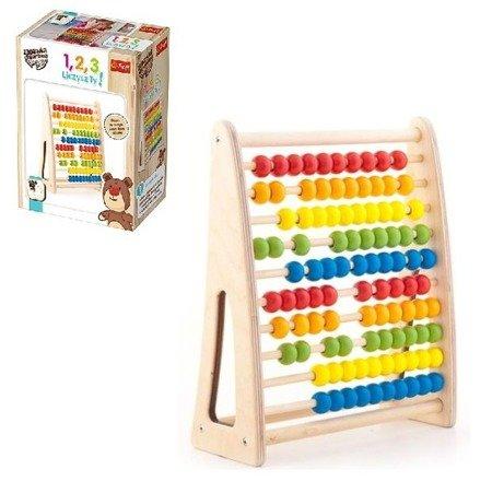 Trefl Zabawka drewniana- 1,2,3 Liczysz Ty!
