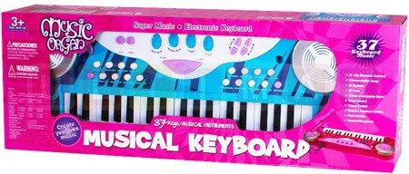 Ultimar: Keyboard dla dzieci, organki z mikrofonem, niebieskie