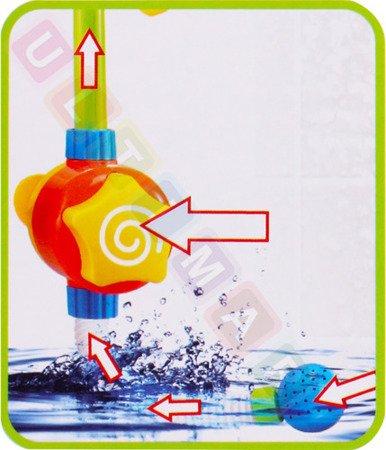 Zabawka do kąpieli wody kranik prysznic słonecznik
