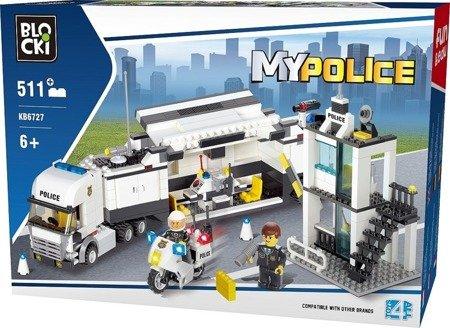 iCOM (KB6727): Klocki Blocki MyPolice Mobilna Komenda 511 el.