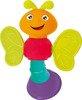 Bezpieczna grzechotka, gryzak: Motylek