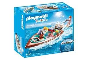 Playmobil Motorówka z silnikiem podwodnym